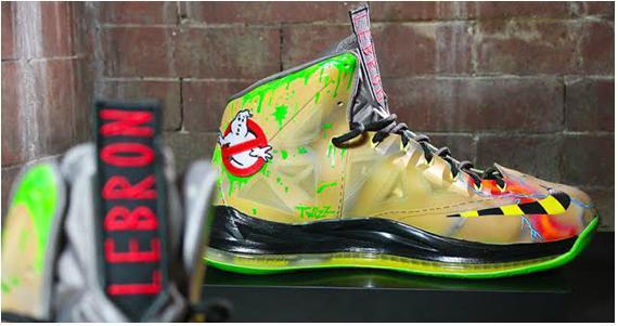 Nike LeBron 10 Ghostbuster Custom