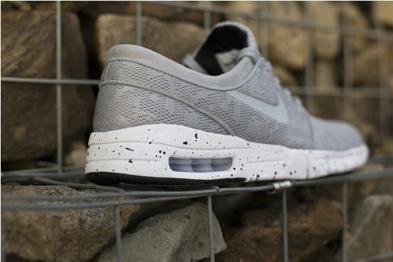Nike Stefan Janoski Max - Wolf Grey Mesh
