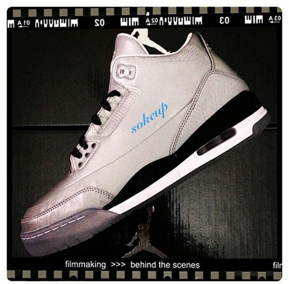 Air Jordan 3 5LAB3 - Preview