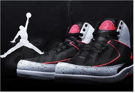 Air Jordan 2 Retro Infrared Cement