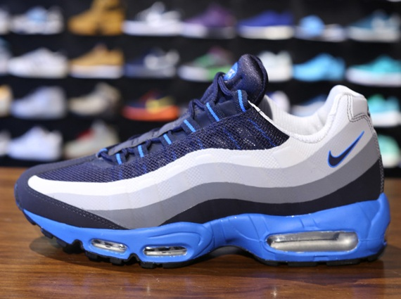nike air max 95 no sew blue
