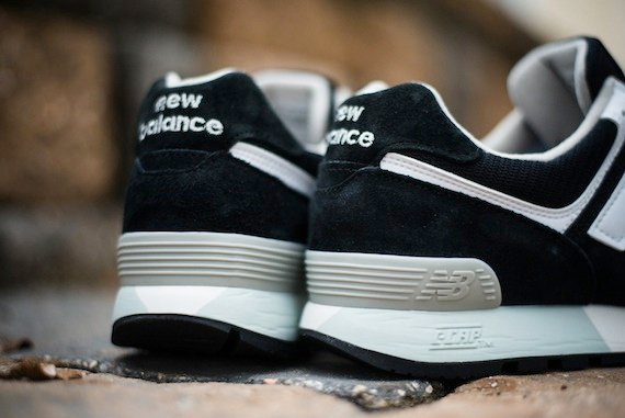 New Balance 576 Black and White - Detailed Photos