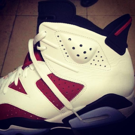 Air Jordan 6 Carmine 2014 Retro Another Look