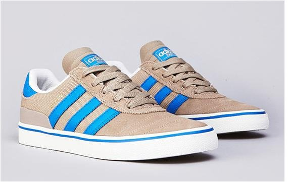 adidas Skateboarding Busenitz Vulc Chalk and Bluebird