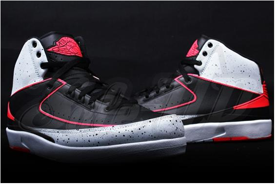 Air Jordan 2 Retro Infrared Cement