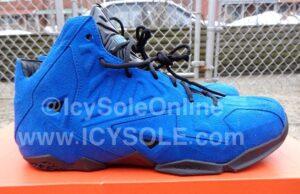 Nike LeBron 11 NSW Blue Suede