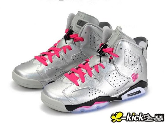 Air Jordan 6 Retro GS Valentines Day