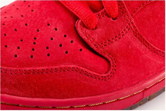 Nike Sb Dunk High Red Packet Sneakerfiles