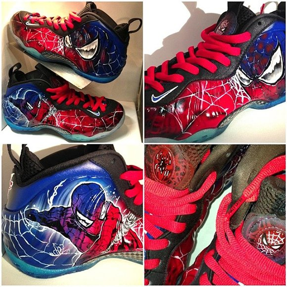 Dez Spiderman Foams