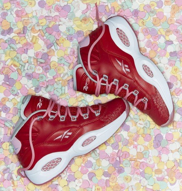 Reebok Question MidReebok Question Mid Valentine's Day Valentine's Day