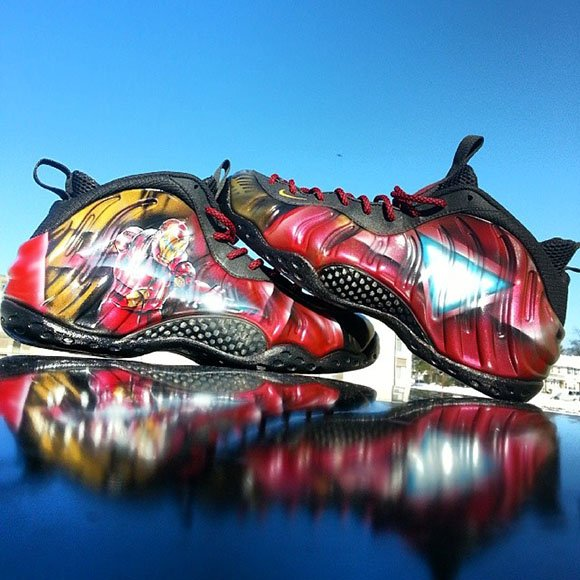 9ef32a15af77b3 ... foamposite pro In the custom shoe game there is only one superhero and  thats Dez Customz who has ...