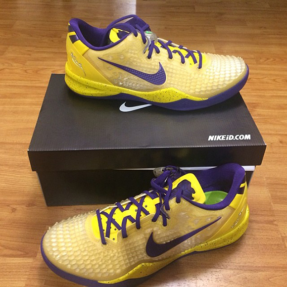 9eb0a754aa92 Nick Young Shows Off Kobe 8 iD - Available On Nike iD Now