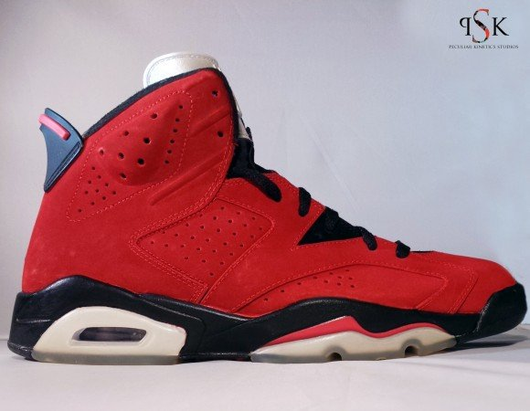 Air Jordan VI Raging Bull by Peculiar Kinetics