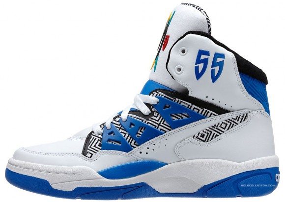 adidas Mutombo White Blue Release Date