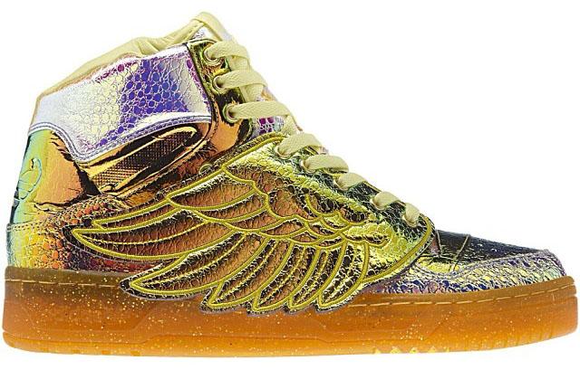 c7d058383089 adidas Originals by Jeremy Scott JS Wings  Iridescent Foil ...