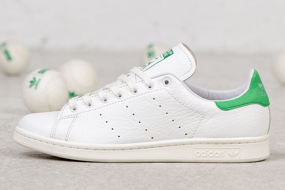 adidas originals crackled leather stan smith blue