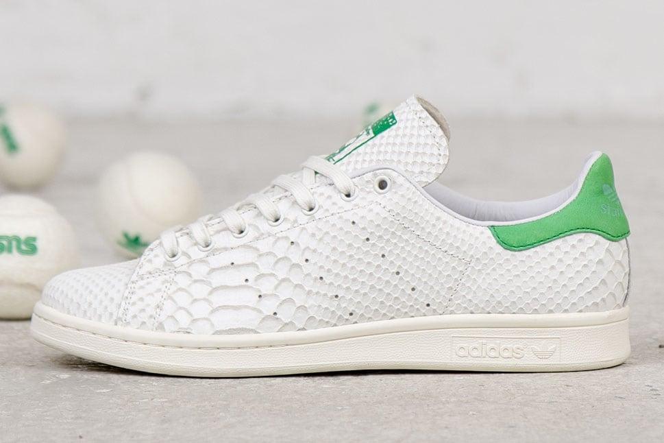 wholesale dealer ad3bb 8bf53 adidas Originals Consortium Stan Smith 'Reptile Leather ...