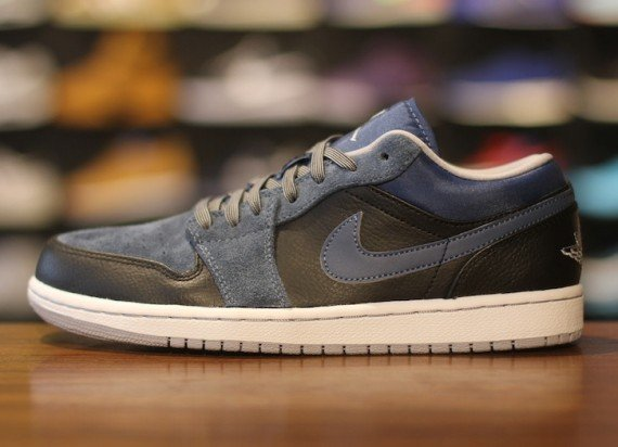Air Jordan 1 Low Black Wolf Grey New Slate Now Available