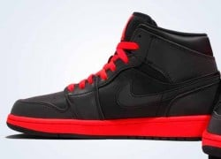 "Air Jordan 1 Mid ""Infrared 23″ – First Look"
