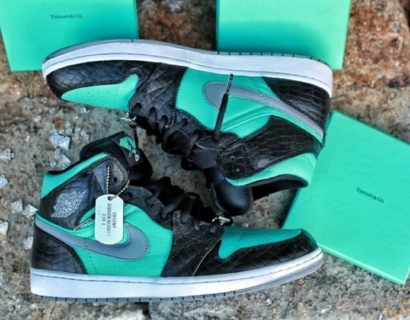 Air Jordan 1 Tiffany by Nbproductionz