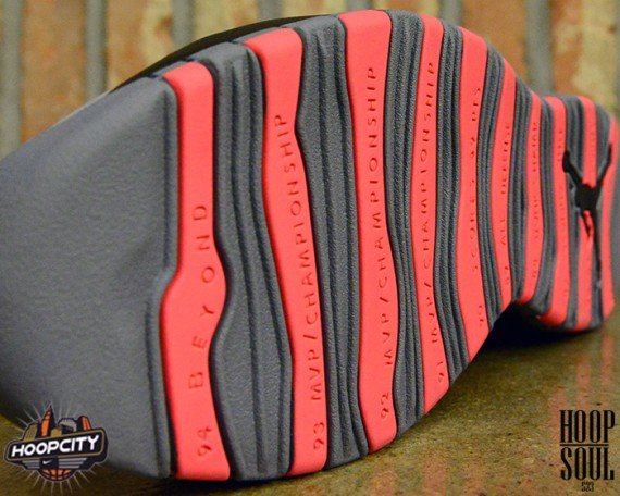 Air Jordan 10 Cool Grey/Infrared Another Look