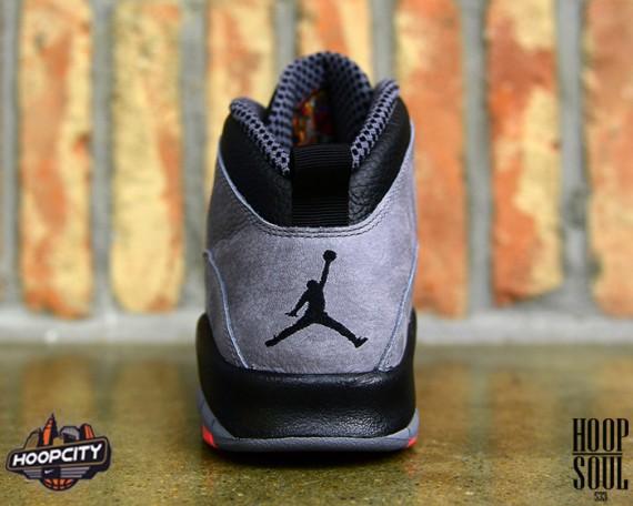 Air Jordan 10 Cool Grey/Infrared Another Look