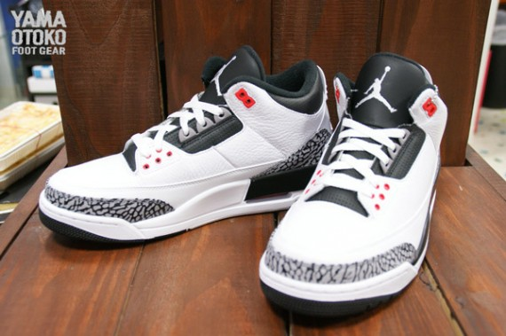 Air Jordan 3 Retro Cement Grey Yet Another Look