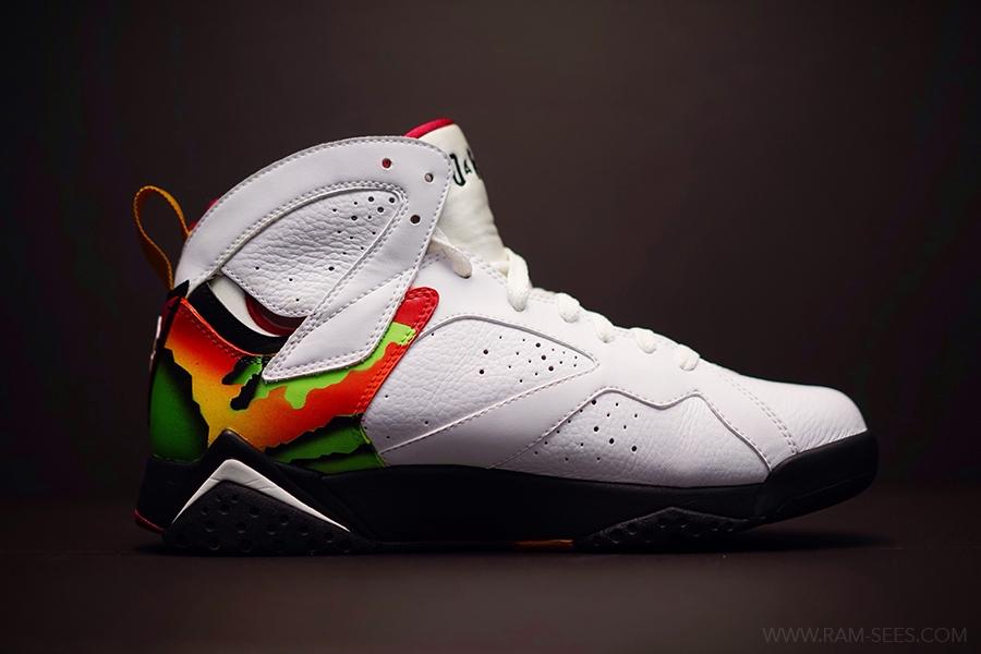 Jordan 7 Customs