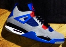 Air Jordan IV (4) 'Grey/Blue-Red' Unreleased Sample