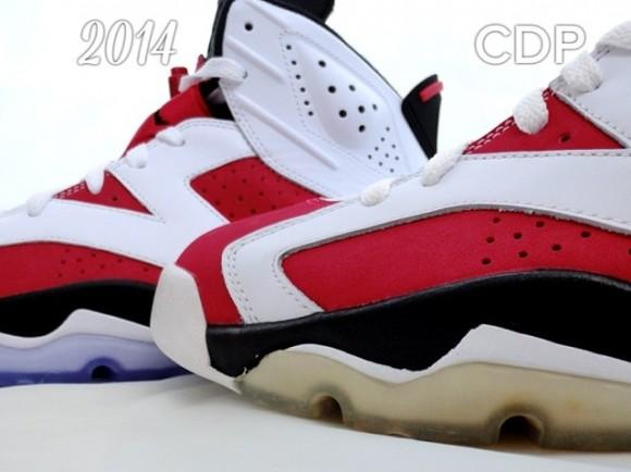 low priced d01ad 37cb5 air-jordan-vi-6-carmine-2008-2014-comparison-