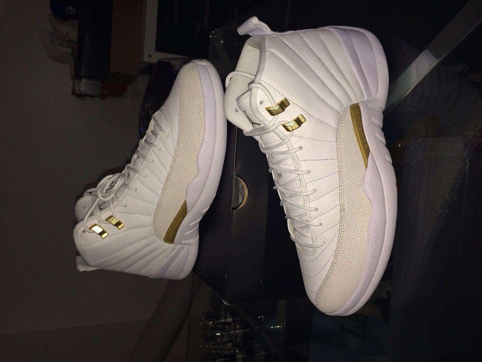 Air Jordan 12 OVO White Price