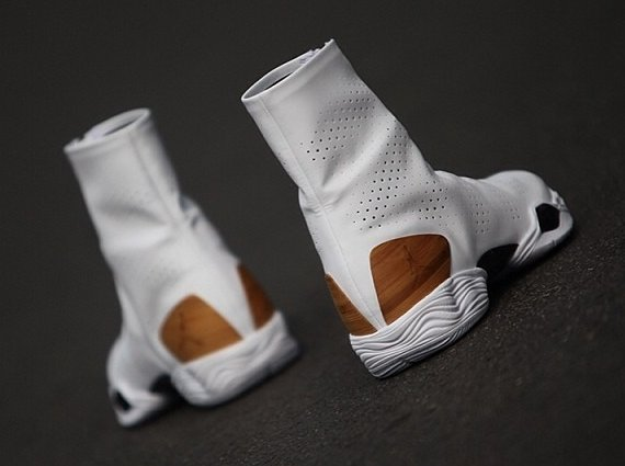 Air Jordan XX8 White Bamboo Closer Look