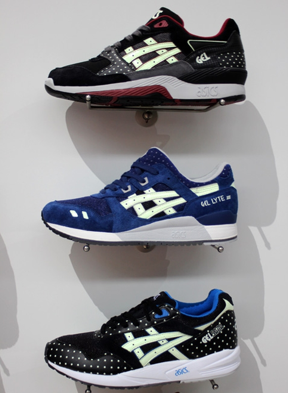 Asics Gel Glow in the Dark Pack Fall 2014