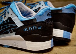 Asics Gel Lyte III 'Black/Carolina Blue' (Global Exclusive Re-Issue) | Now Available
