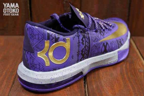 Nike KD 6 BHM Detailed Look