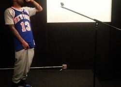 Celebrity Sneaker Watch: Dom Kennedy Spits Verse in Air Jordan 1 High OG 'Royal'