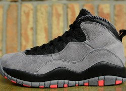 "Air Jordan 10 ""Cool Grey/Infrared"" – Another Look"