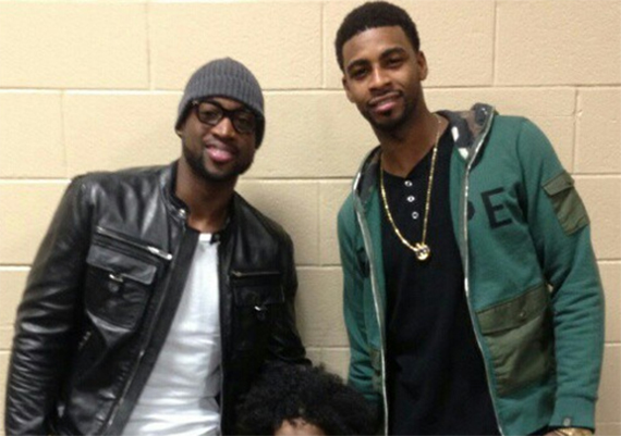 Dwyane Wade Welcomes Dorell Wright to Li-Ning Roster