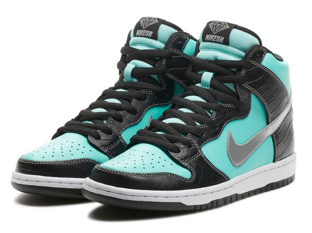 e40d2e192a Diamond Supply Co. x Nike SB Dunk High PRM 'Tiffany' | Official ...