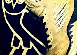 "A Closer Look at Drake's Air Jordan Retro ""OVO"" PEs"