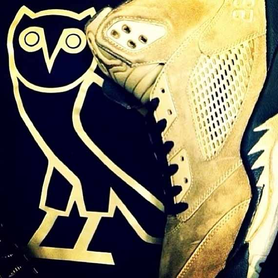 A Closer Look at Drake's Air Jordan Retro OVO PEs