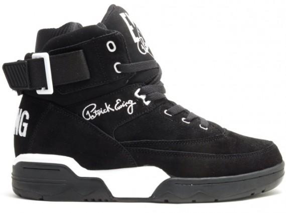 Ewing 33 Hi Black Suede