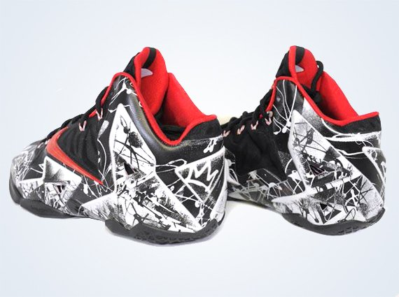 The LeBron 11 Graffiti to be the First LeBron Release of 2014