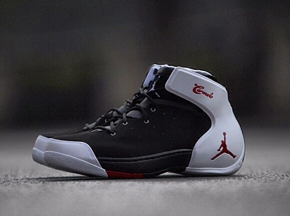Jordan Melo 1.5 Black Gym Red White Release Date