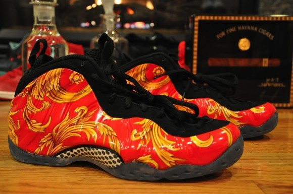 Supreme x Nike Air Foamposite One Red Another Quick Look