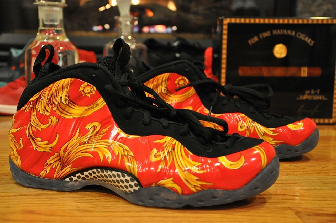 "official photos 269b7 0975d Supreme x Nike Air Foamposite One ""Red"" - Another Quick Look ..."