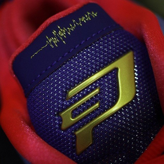 Jordan CP3.VII Purple Red Speckle