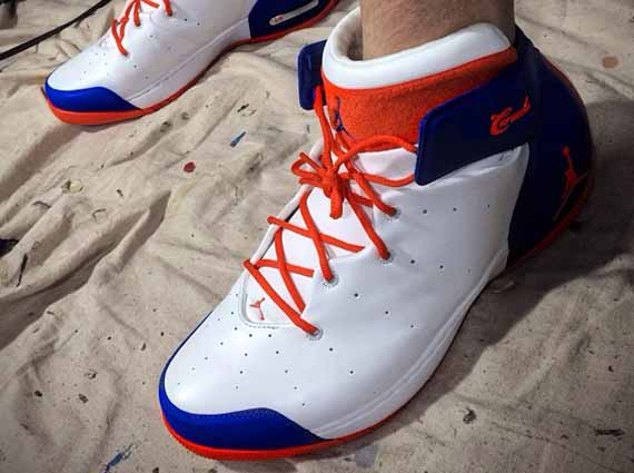 Jordan Melo 1.5 Knicks First Look