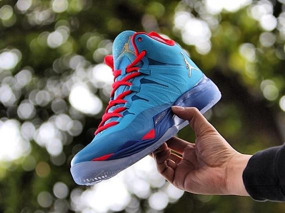 Jordan Super.Fly 2 Blue Red Purple