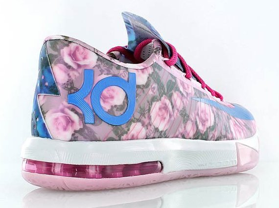 Nike KD 6 Aunt Pearl Closer Look